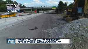 Fouts asks Snyder for State of Emergency in Warren over I-696 project delay [Video]