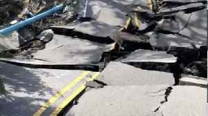 Wilmington Street Collapsed in Hurricane Florence [Video]