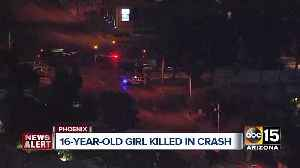 16-year-old passenger killed in crash near 24th Street and University [Video]