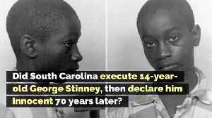 Did South Carolina Execute 14-Year-Old George Stinney, Then Declare Him Innocent 70 Years Later? [Video]