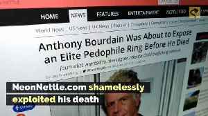 Was Anthony Bourdain About to Expose an Elite Pedophile Ring? [Video]