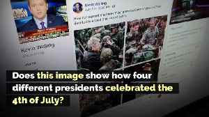 Does This Image Show How Four Different Presidents Celebrated the 4th of July? [Video]