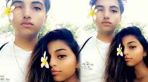 Suhana Khan shares beautiful picture with her friend Agastya Nanda | FilmiBeat [Video]