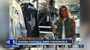Boca Raton designer helping Dallas Cowboys make fashion statement [Video]