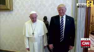 Did Pope Francis Slap Away Donald Trump's Hand? [Video]