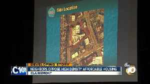 Clairemont residents oppose affordable housing building [Video]