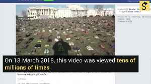 Does an 'Empty Shoes' Memorial in Washington, D.C. Represent 7,000 Children Killed by Guns Since Sandy Hook? [Video]