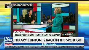 Fox & Friends Agrees With Hillary Clinton [Video]