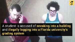 Florida Student Accused of Changing Grade from F to B [Video]