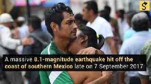 Mexico Hit by One of Biggest Quakes Ever, 15 Killed [Video]