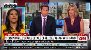 CNN reads play-by-play of Trump's alleged sexual encounter with Stormy Daniels from her book [Video]
