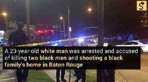 White Man Faces Charges in Shooting Deaths of 2 Black Men [Video]