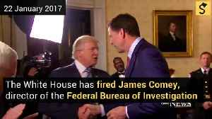 White House Fires FBI Director James Comey [Video]