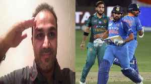 India VS Pakistan Asia Cup 2018: Virender Sehwag Salutes Team India on big win | वनइंडि&#x92 [Video]