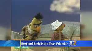 Former 'Sesame Street' Writer Says Bert And Ernie Are Gay Couple; Show Denies [Video]