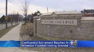 Wheaton College Reaches Settlement With Ex-Football Player In Hazing [Video]