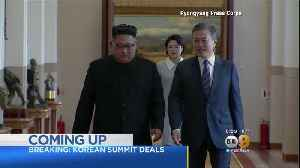 North and South Korea Commit To 'Era Of No War' [Video]