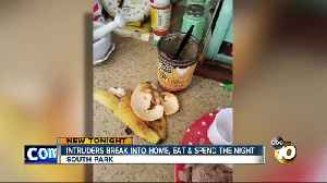 intruders break into home, eat and spend the night [Video]