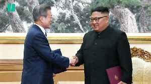 North & South Korea To Go 'Nuclear-Free' [Video]
