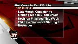 Red Cross finalizes plans to cut jobs in Great Lakes region [Video]