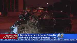 Man Wounded In Portage Park Shooting Crashes Into CVS [Video]