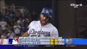 Dodgers Win 3-2 In 10th Inning [Video]