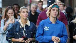 News video: Rumored Newlyweds Justin Bieber And Hailey Baldwin In London