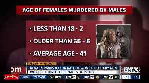 Nevada ranks No. 3 for rate of women killed by men [Video]