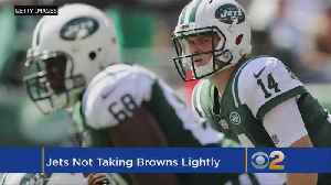 Jets Not Taking Hungry, Still-Winless Browns Lightly [Video]