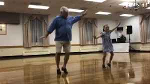 Watch Grandfather Nail Tap Routine with 10-Year-Old at Dance Recital [Video]
