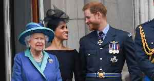 Prince Harry Admits He Panics When He Bumps Into Queen Elizabeth in the Halls of Buckingham Palace [Video]