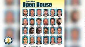 Operation Open House: 24 Alleged Child Predators Arrested In New Jersey [Video]