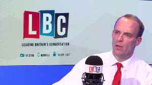 News video: Dominic Raab: Article 50 Will Not Be Extended Even If There's No Deal