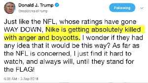 Nike sells out products after Kaepernick ad [Video]