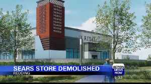 Sears Store Demolished Making Way for New Retailers [Video]