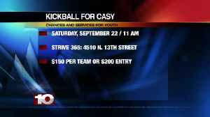 Playing Kickball for Casy [Video]