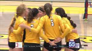 Valpo Downs Dons in Five [Video]