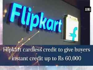 Flipkart cardless credit to give buyers instant credit up to Rs 60,000 [Video]