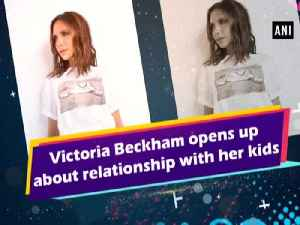 News video: Victoria Beckham opens up about relationship with her kids