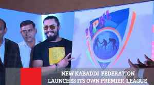 New Kabaddi  Federation Launches Its Own Premier  League [Video]
