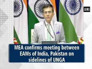 MEA confirms meeting between EAMs of India, Pakistan on sidelines of UNGA [Video]