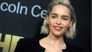 Emilia Clarke Gets Tattoo In Tribute To Role [Video]