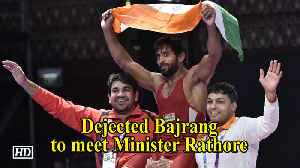 Khel Ratna awards | Dejected wrestler Bajrang to meet Minister Rathore [Video]