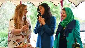 Meghan Markle Celebrated Her Cookbook Launch At Kensington Palace [Video]