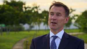 Jeremy Hunt: The world will ensure there is accountability [Video]