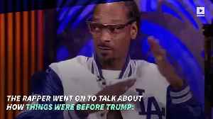 Snoop Dogg Slams Kanye West for Supporting Trump