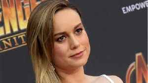 Brie Larson Thanks Military Families and STEM Students [Video]