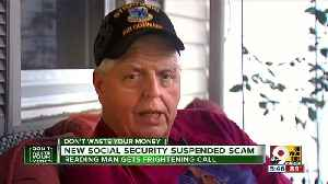 Beware new scam: 'You're Social Security  has been suspended' [Video]