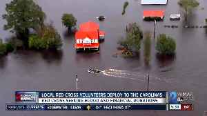 Local Red Cross volunteers deploy to the Carolinas to help those affected by Hurricane Florence [Video]