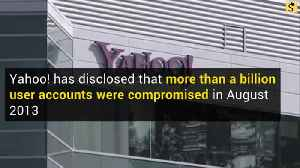 Yahoo Discloses Billion-User Data Breach [Video]